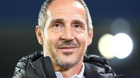 Bereitet sich auf das Spiel gegen den FSV Mainz vor: Frankfurts Trainer Adi Hütter.