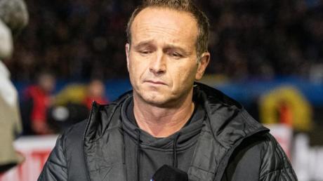 Wurde trotz der Tabellenführung des FC Saarbrücken beurlaubt: Trainer Dirk Lottner.