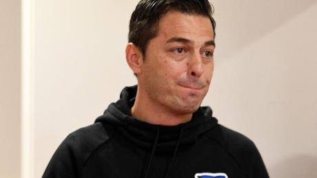 Ante Covic musste bei Hertha BSC als Trainer gehen.