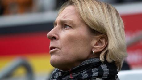 Trifft im ersten Heimländerspiel 2020 mit den DFB-Frauen auf Irland: Bundestrainerin Martina Voss-Tecklenburg.