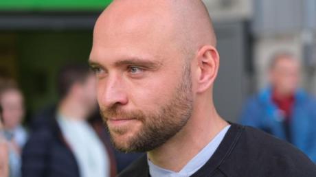 Wolfsburgs Trainer der Damen-Mannschaft, Stephan Lerch.