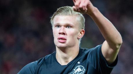 Torjäger Erling Haaland soll RB Salzburg gegen Klopps Liverpooler zum Erfolg schießen.