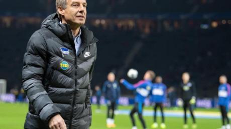 Hat Hertha wieder in die Spur gebracht: Jürgen Klinsmann.