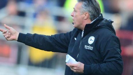 Will mit Bielefeld in die Bundesliga: Arminia-Coach Uwe Neuhaus.