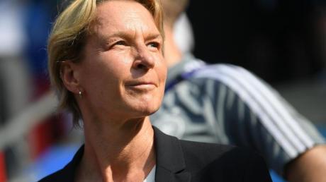 Wünscht sich mehr Respekt für den Frauen-Fußball: Bundestrainierin Martina Voss-Tecklenburg.
