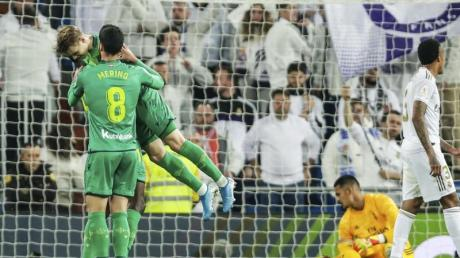 Ausgerechnet Real-Leihgabe Martin Oedegaard leitete mit seinem Tor den Auswärtssieg von San Sebastian in Madrid ein.