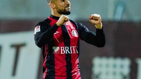 Brachte Wiesbaden mit seinem Tor zum 1:0 in Führung: Daniel Kofi Kyereh.