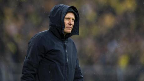Freiburgs Trainer Christian Streich äußerte sich bestürzt nach den Schmähungen gegen Dietmar Hopp.