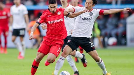 Überragender Akteur beim Leverkusener Sieg gegen Frankfurt: Paulinho.