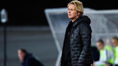 Wird mit den DFB-Frauen kein Finale beim Algarve-Cup bestreiten: Bundestrainerin Martina Voss-Tecklenburg.