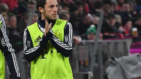 Leihspieler Álvaro Odriozola kam in München bisher kaum zum Einsatz.