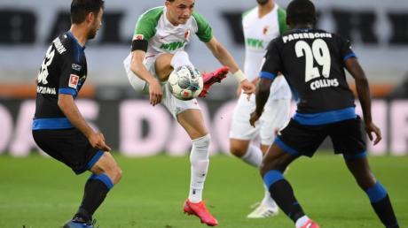 Zumindest einen Punkt konnte Paderborn aus Augsburg mitnehmen.