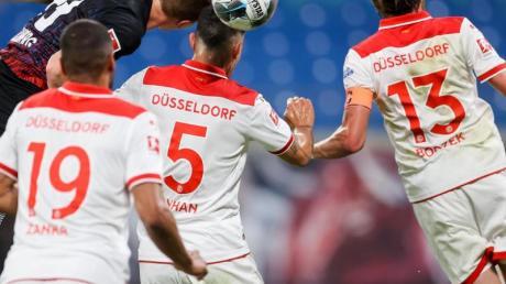 Einen Punkt konnte Fortuna Düsseldorf bei RB Leipzig ergattern.