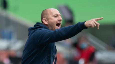 Duisburgs Trainer Torsten Lieberknecht war trotz des dritten Remis in Folge nicht unzufrieden.