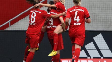 Die Fußballerinnen des FC Bayern München erreichten die Champions League.