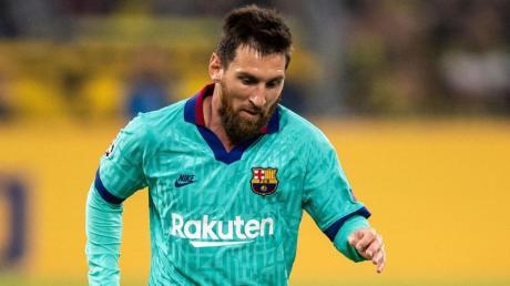 Inter Mailand dementiert Transferbemühungen um Lionel Messi.