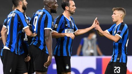 Inter Mailand setzte sich im Achtelfinale der Europa League gegen den FC Getafe durch.