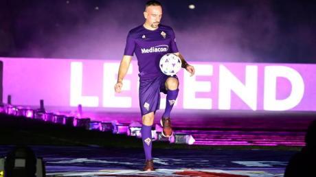 Franck Ribéry ist gleich in seinem ersten Jahr beim ACFlorenz zum Spieler der Saison gewählt worden.