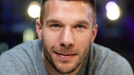 Lukas Podolski ist Fan - und neuerdings auch Spieler - der Kölner Haie.