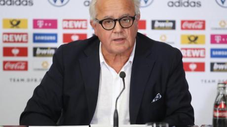 Fritz Keller ist der Präsident des DFB.