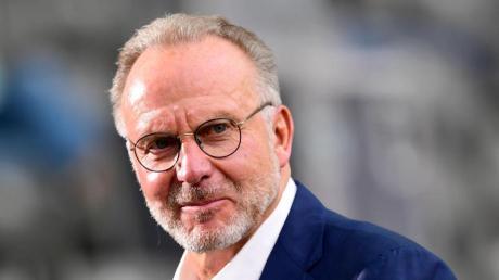 Nimmt David Alaba in die Pflicht:Bayern-Boss Karl-Heinz Rummenigge.