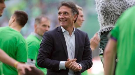 Trifft mit Hertha BSC auf seinen Ex-Club Wolfsburg:Bruno Labbadia.