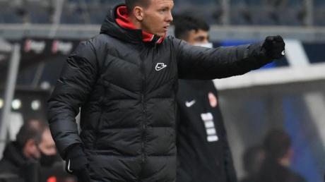 Julian Nagelsmanns Blick geht schon in Richtung Champions League.