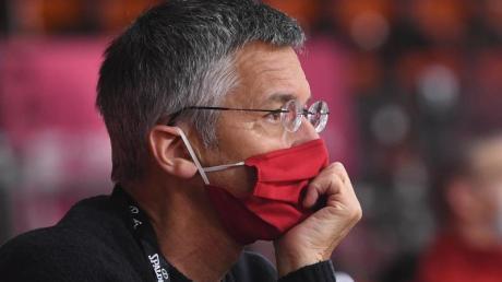Erwartet wegen der Pandemie ein hohes Umsatzminus beim FC Bayern München: Vereinspräsident Herbert Hainer.