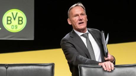 Lässt die Trainerfrage beim BVB noch offen: Vorstandsboss Hans-Joachim Watzke.