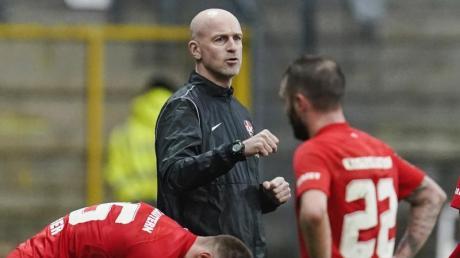 Trainer Marco Antwerpen feierte beim FCK ein erfolgreiches Debüt.