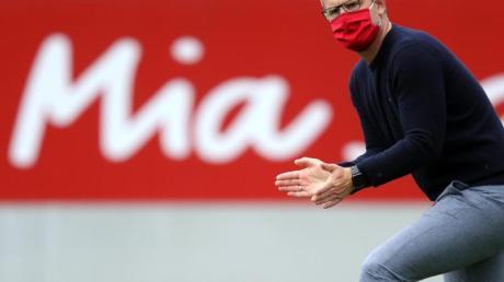Hat mit Bayerns Fußball-Frauen eine lösbare Aufgabe im Achtelfinale der Champions League: Jens Scheuer.