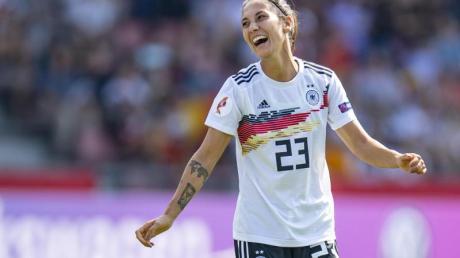 Sara Doorsoun sieht für den Frauen-Fußball noch Potenzial bei Mädchen mit Migrationshintergrund.