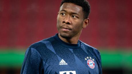 Droht dem FC Bayern München im Bundesliga-Auswärtsspiel bei Werder Bremen auszufallen: David Alaba.
