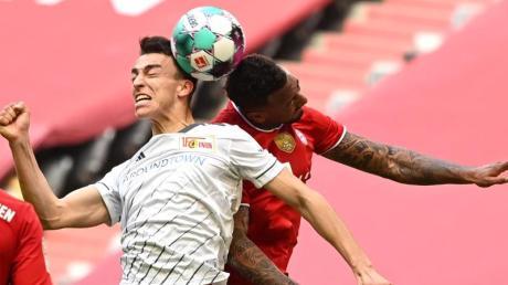 Petar Musa (M) erkämpfte sich mit Union Berlin einen Punkt beim FC Bayern.
