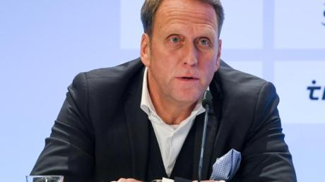 Hofft auf ein reguläres Ende der laufenden Zweitliga-Saison: Kiel-Präsident Steffen Schneekloth.