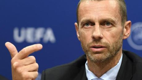 Kritisiert die Pläne zur Super League: Aleksander Ceferin, Präsident der UEFA.