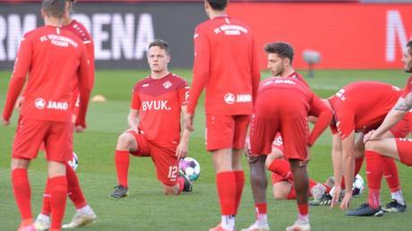 Das Spiel der Würzburger Kickers beim Karlsruher SC kann stattfinden.