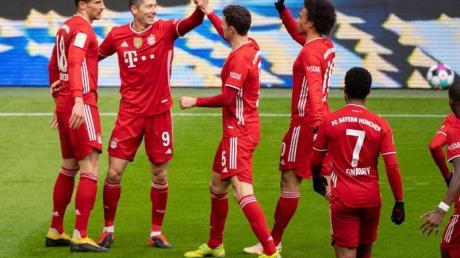 Können sich über die nächste Ehrung freuen: Der FCBayern München.