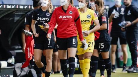 Bei Eintracht Frankfurt gab es einen Corona-Fall.