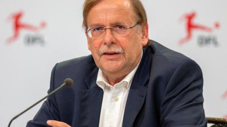 Hat die Entschuldigung von Fritz Keller entgegengenommen: DFB-Vize Rainer Koch.