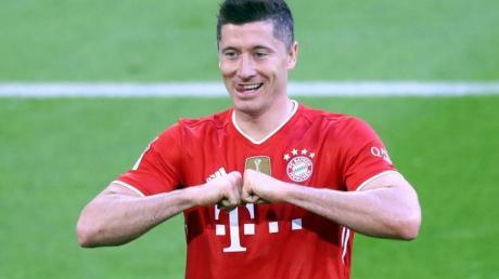 Knackt Bayern-Torjäger Robert Lewandowski den Torrekord von Gerd Müller?.
