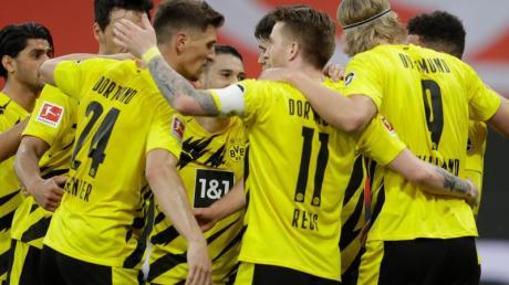 Mit dem Sieg in Mainz machte der BVB die Champions-League-Qualifikation fix.