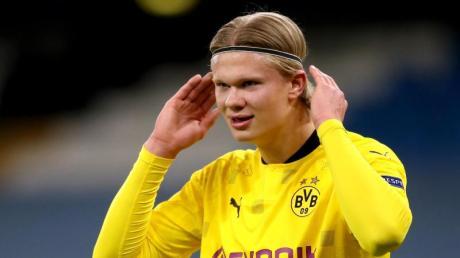 Noch steht Erling Haaland bei Borussia Dortmund unter Vertrag.