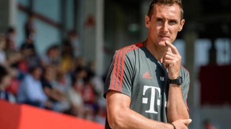 Will nach überstandener Thrombosen nun die Trainerkarriere vorantreiben: Miroslav Klose.