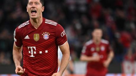 Bayern Münchens Stürmerstar Robert Lewandowski wurde für die Wahl um den Ballon d'Or nominiert.