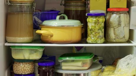 Ordnung ist auch im Kühlschrank wichtig.