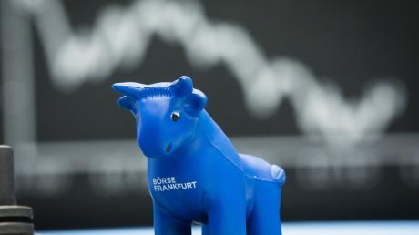 An der Börse herrschte nach dem Corona-Schock eine regelrechte Aufholjagd. Das Symbol der Börsianer dafür: der Stier.