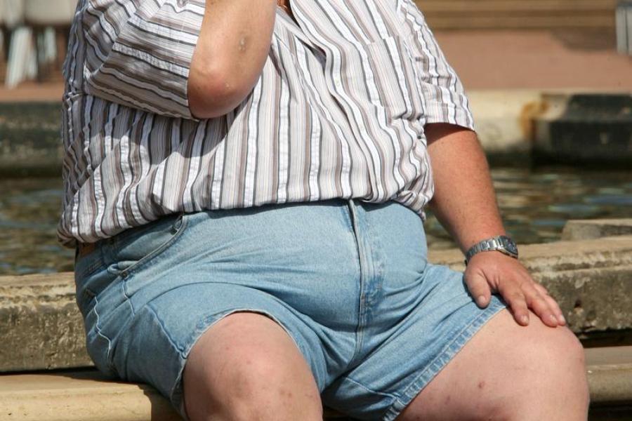 ожирение и потница на члене