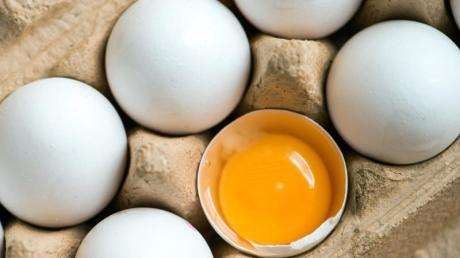 Die Preise für Eier sind gestiegen.