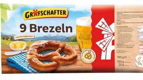 Lidl ruft das Produkt «Grafschafter 9 Brezeln zum Fertigbacken, 785 g» zurück.
